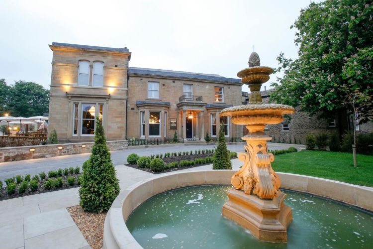 the manor house  lindley  u2013 restored georgian residence