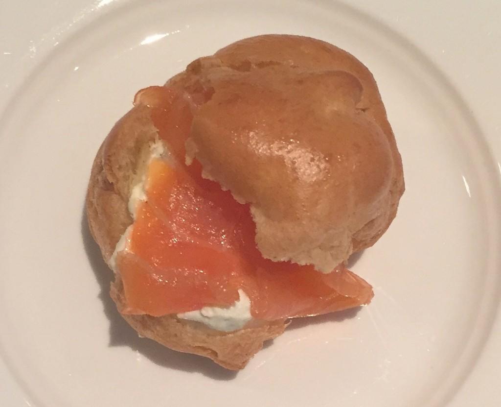 Smoked Salmon Choux Bun